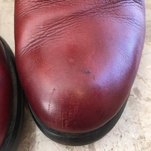 PIKOLINOS Shoes - Pikolinos Andorra red  leather bootie size 7